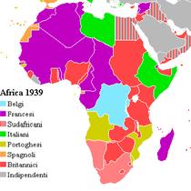 L'Africa alla vigilia della Seconda Guerra Mondiale
