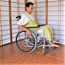 車椅子が使える畳です。