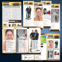KoerperKultur: Logo-Design, Anzeigen, Flyer, Zehnerkarten, Mitgliedsausweise, Banner, Außenwerbung, Fahnen, Kfz-Beschriftung etc.