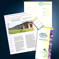 Palliativstation Bremen: Logo-Design, Flyer, Mailings, Briefbogen, Visitenkarten