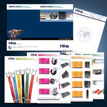 Miro Fahrzeug- und Logistikbedarf: Katalog, Briefbogen, Umschläge, Visitenkarten etc.