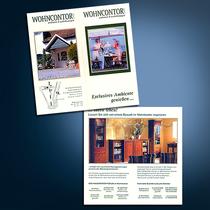Wohnkontor: Flyer, Broschüren
