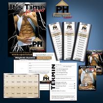 Power House Fitness: Logo-Design, Anzeigen, Flyer, Poster, Karten, Mitgliedsausweise etc.