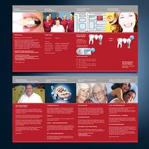 Zahnarzt Haldan: Flyer, Fotografie, Logo-Design
