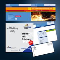Handwerkskammer Oldenburg: Broschüren, Umschläge, Flyer