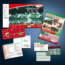 Fribo-Team: Präsentationsmappe, Mailings, Visitenkarten, Postkarten etc.