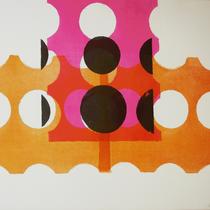 o.T. 2018, 57 x 78cm, Lithographie, Micha Hartmann, Esslingen am Neckar