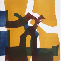 dazwischen 3, 2019, 49 x 39cm, Lithographie, Micha Hartmann, Esslingen