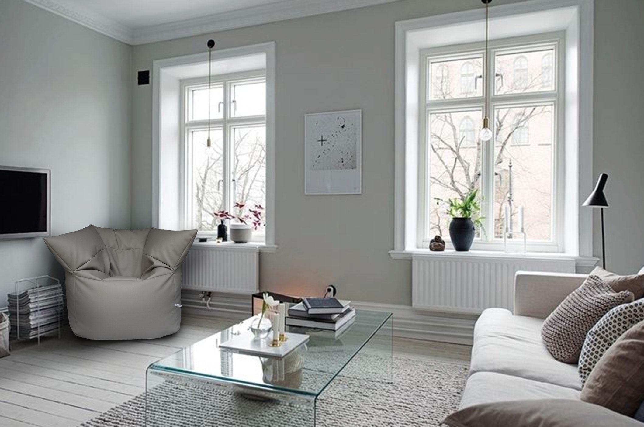 Stai cercando dei pouf sacco su filippo ghezzani ne trovi for Pittura soggiorno moderno