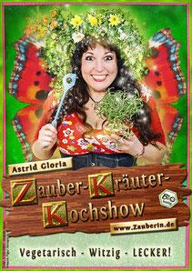 Astrid Gloria, die grüne Küchenfee