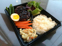 Teriyaki Hamburger Steak
