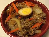 Tsukiyaki Thin Beef