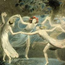 《オベロン、ティタニア、パックと踊る妖精たち》