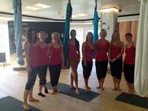 Mit Aerial-Yoga, Yoga Shop Zürich & Wellicious schwebend zum Beauty-Glück