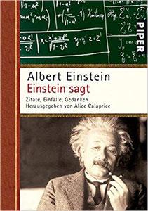 Einstein sagt: Zitate, Einfälle, Gedanken