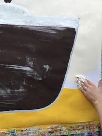 Lösungsorientiertes Malen LOM, Kunsttherapie, Atelier farbennest in Bonn
