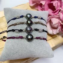 Baroque Perle, Mondstein, Onyx 925 Silber *139,00€*