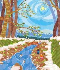 雪解けの頃