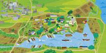 茨城県マップ