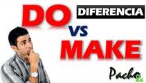 Do y Make diferencias