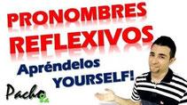 Pronombres Reflexivos Pacho8a