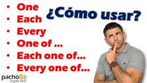 ¿Cómo usar Each - Every? Pacho8a