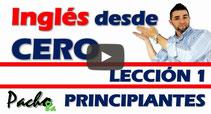 Curso inglés principiantes Pacho8a