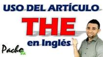 Uso del articulo THE en inglés