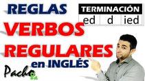 Reglas de terminación verbos regurales D-ED-IED Pacho8a