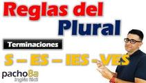 Reglas del Plural en Inglés