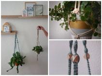 Macramé Zwolle vrijgezellenfeest plantenhanger