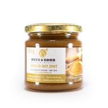 Bio Honig, Zimthonig, Zimt im Honig, Imkerei Buss, Region
