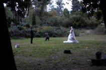 Hochzeitsfotos im Park