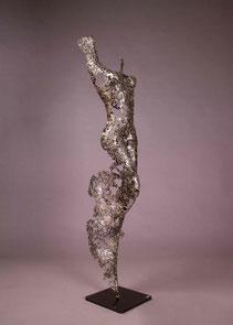 Armina  137 x 41 x 23 cm  Female torso
