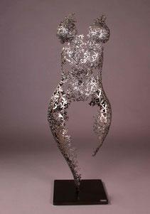Nimrod Messeg iron sculpture