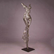Begonia Female torso 124x29x17cm