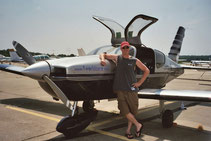 Matt - Private Pilot 2004.  Went on to ATC school.