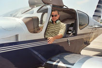 Alex -  Instrument Pilot 2004. Alex went to the airlines and made Captain.