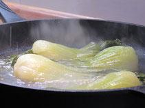 La cuisson du fenouil de la ferme des saveurs de Gâtine