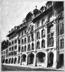 Teilansicht Geschäftshäuser Kaiser & Co Marktgasse 37-43 Bern