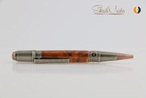 Handgemachter Drachen Stift aus Holz gedrechselt