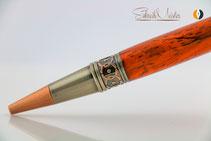 SchreibMeister handgemachter Kugelschreiber aus Holz