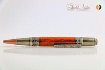 Hand gedrechselter Kugelschreiber aus Red Mallee