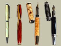 gedrechselte Stifte