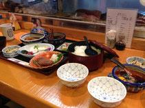 宇和島鯛飯に舌鼓。