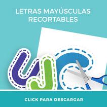 Descarga gratis para profesores letras mayusculas