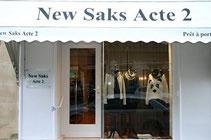 New Saks Acte 2 prêt à porter féminin