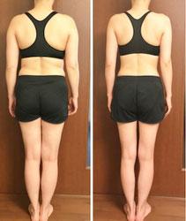 DNAパーソナル瘦身 40代女性 3ヶ月の結果 後