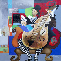 """""""Le violonceliste"""""""