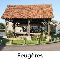 Wandern in Feugères